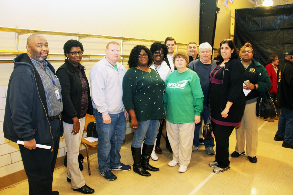 "AFSCME Ohio Council 8 leaders, members and staff say ""Right-To-Work"" is Wrong."